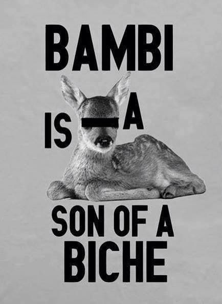 #bambi #biche and not bitch ;)
