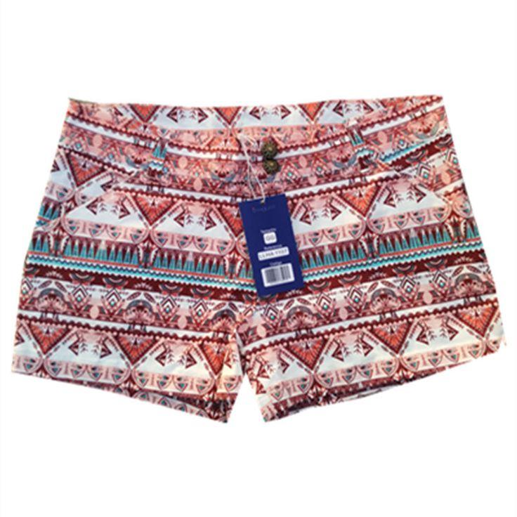 Summer Plus Size Shorts /Women's Shorts Pantalones Cortos Mujer Bermudas Mulheres Bermudas Printing Shorts Summer Female #Affiliate