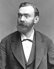 "Inventor of dynamite and 354 other things, Alfred Nobel had a most unusual chart. Born October 21, 1833, time unknown, he had Mars (bang) opposed to Jupiter (big) and Pluto (power) in Aries (sign of ""first""). With the sun in Libra (peace) and moon in Aquarius (humanitarian), he left his fortune to create the Nobel Peace Prizes."