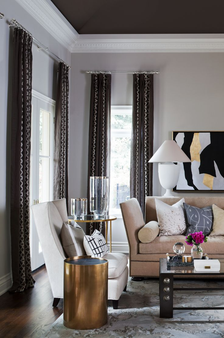 Living room designed by elizabeth metcalfe interiors for Interior design house oakville