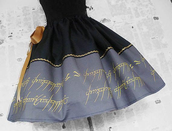 Lord Of The Rings Skirt, Dress, Lady Of The Rings,Tolkien, Hobbit Skirt, RoOBYS, ALL Sizes