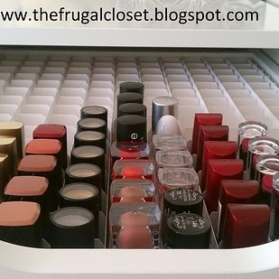 For your drawers, use thick sheets of posterboard to create compartments for all your makeup needs. | 52 Meticulous Organizing Tips For The OCD Person In You