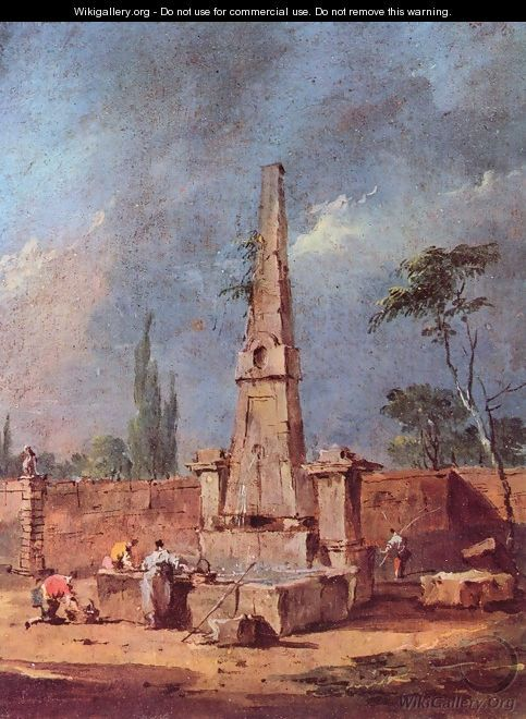 Capriccio 3 - Francesco Guardi