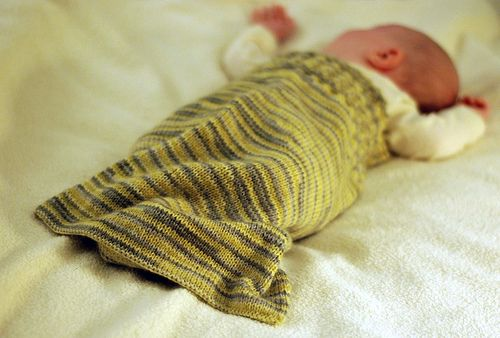 Would Love To Knit For The Baby A Warm Sleeping Sack