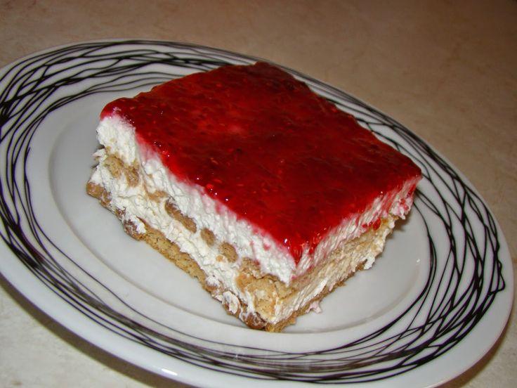 Γλυκό ψυγείου με μπισκότα και γιαούρτι | Olga'scuisine.gr