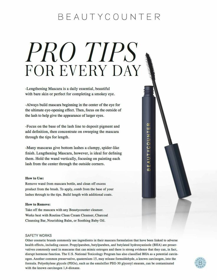Our groundbreaking lengthening mascara, 3 years in the making. beautycounter.com/jenniferjohnson2