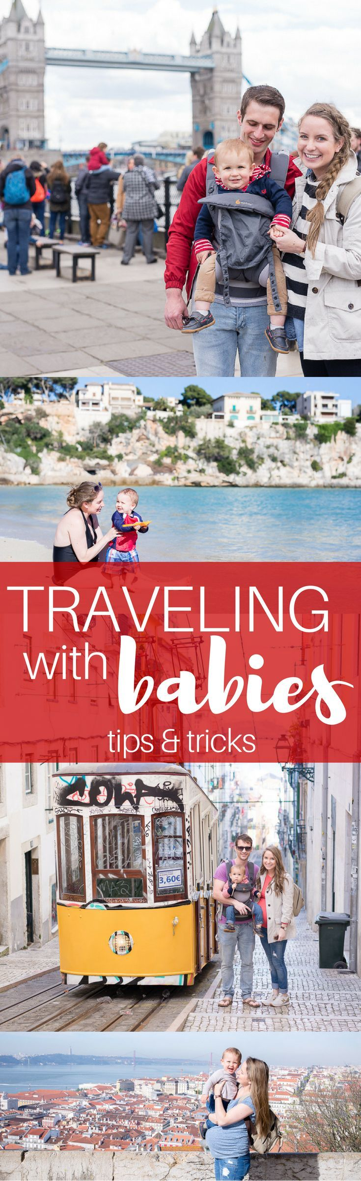 traveling with a baby soon? check out these tips and tricks that will make your life (and theirs!) so much easier.