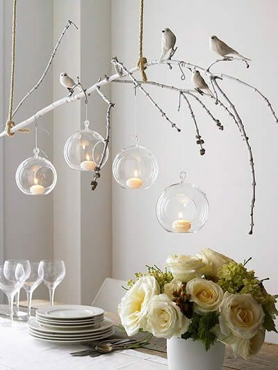 #diy #branches #driftwood #chandeliers