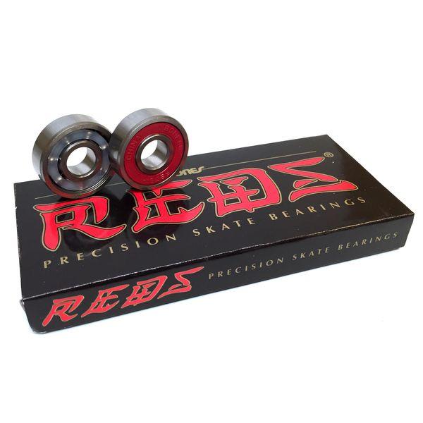 Bones Bearings Bones REDS Precision Skateboard Bearings - now available at Warehouse Skateboards! #wskate #skateboarding