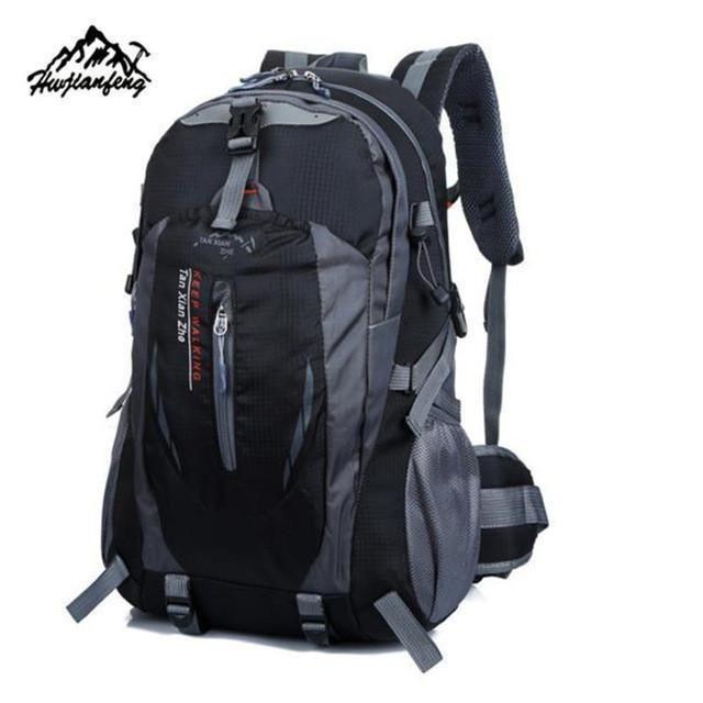 40L Outdoor mountaineering bag Hiking Camping Waterproof Nylon Travel Luggage Rucksack Backpack Bag F1#W21