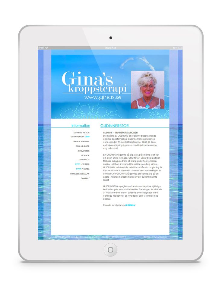 www.ginas.se  | GINAs  | #massage #healing #miracles #angels #archangel #chakra