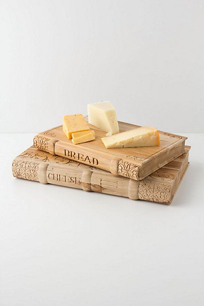 """""""Once upon a time, there was cheese."""" What a novel cheeseboard!"""