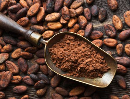Raw cacao is one of the most powerful anti-aging foods around. Slows the aging process by assisting with nitric oxide metabolism: nitric oxide protects your heart by relaxing your blood vessels and thereby lowering your blood pressure. Cocoa polyphenols help counter the typical age-related decline in nitric oxide production and repairs damaged DNA.
