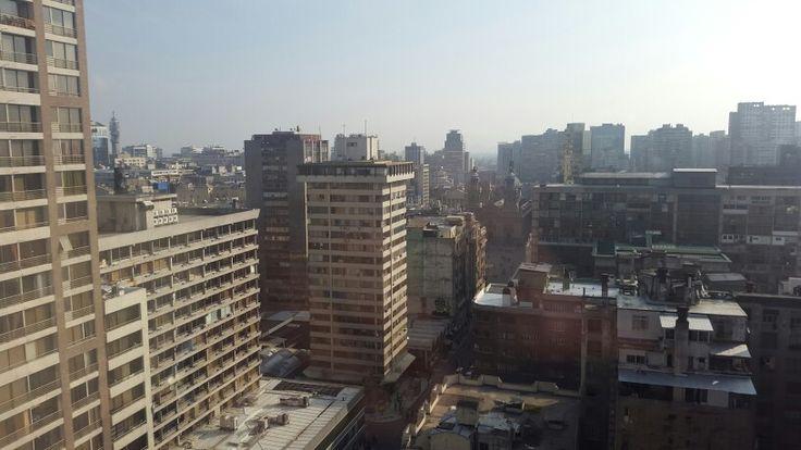 Vista desde apartamento #Chile Santiago Centro