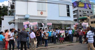 Ankara katliamı Dominik Cumhuriyeti'nde protesto edildi