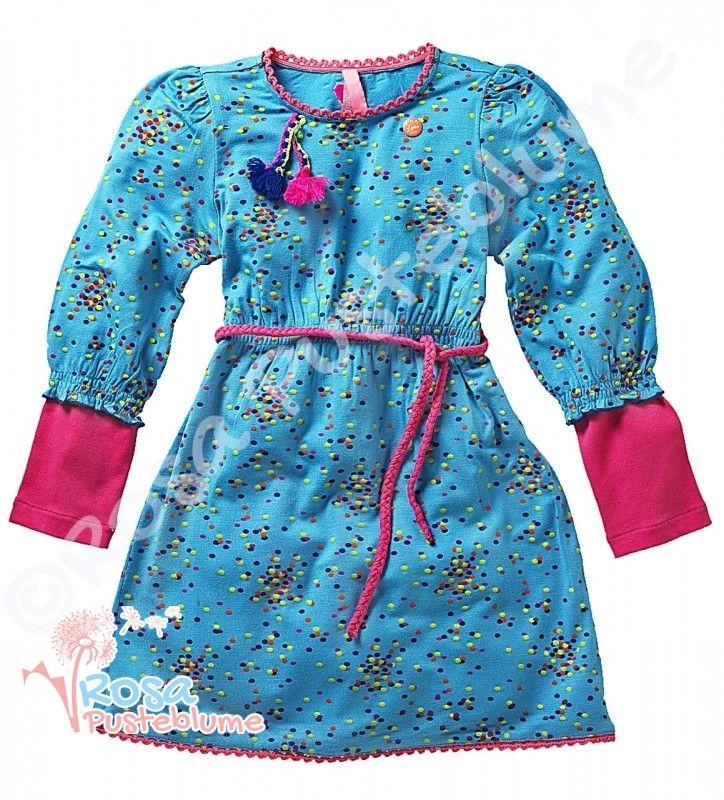 Mädchen Kleid von Mim-Pi im Lagenlook mim-35 Details