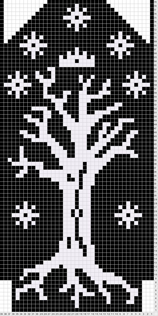 LOTR mittens knitting pattern