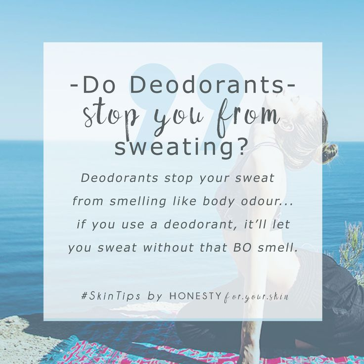 Deodorant... Anti-perspirant, just what the heck is the difference? Well my friend, this is interesting, deodorants and anti-perspirants work in very different ways. A deodorant acts on the cause of smell e.g. bacteria and anti-perspirant stops sweat from coming outta your skins pores... they also treat 2 different kinds of sweating, find out which is better for you in this article...