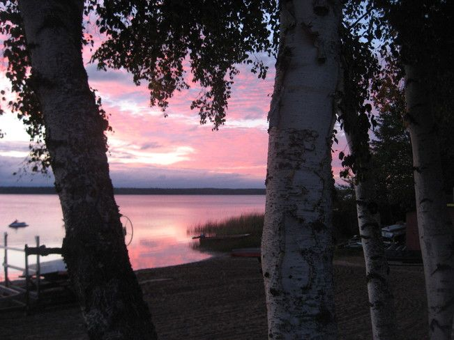 sunrise Christopher Lake Saskatchewan Canada