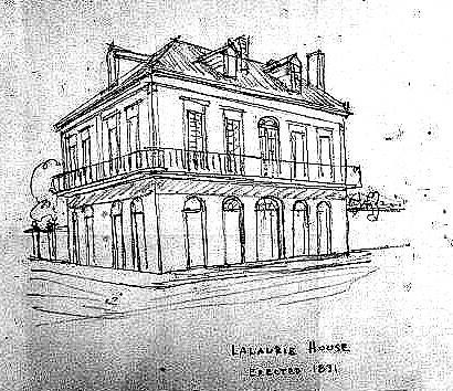 What The Lalaurie Mansion Looked Like In 1831 When