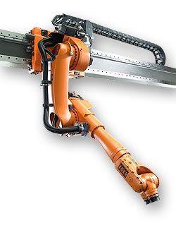 (KUKA KR 30 JET Industrial Robot)