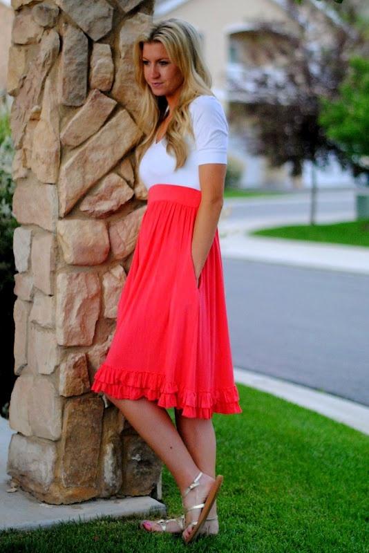 Elle Apparel: Coral Dress. Different colors though