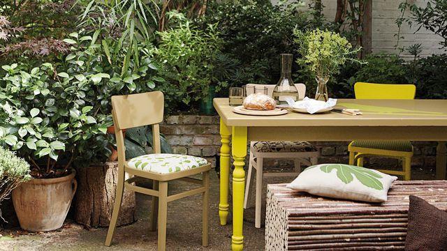 Repeindre Du Mobilier De Jardin En Plastique En Pvc Relooker Mobilier Jardin Chaise De Jardin Salon De Jardin Plastique