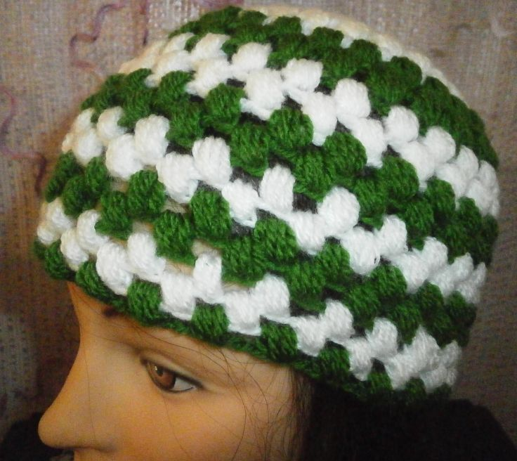 Puff Stitch beanie adult unisex