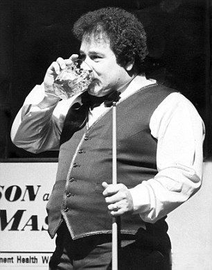 Bill Werbeniuk drank six pints of lager before each snooker match and a pint for each frame he played. Now THAT is a sporting hero. And love how he tried to claim tax relief on lager as it was an essential sporting expense - lost his case sadly!