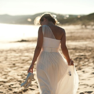 Anna & Gus's Wedding, 2012 Location: Aireys Inlet, Victoria, Australia Meaghan Cook Photograhy Wedding dress designed by Hilary McAllister