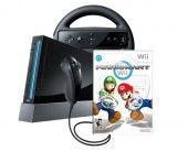 Wii Console with Mario Kart Wii Bundle – Black $349.95