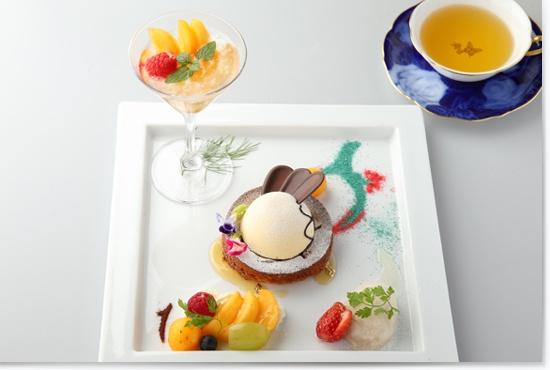 Bon Voyage Dessert - Swallowtail Butler Cafe Japan