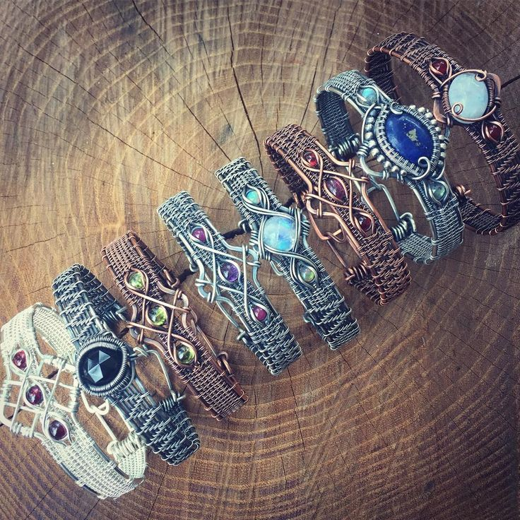 So many #bracelets All of these beauties are available in my shop! Follow the link in my bio to find out more ✨ SweetWaterSilver.etsy.com