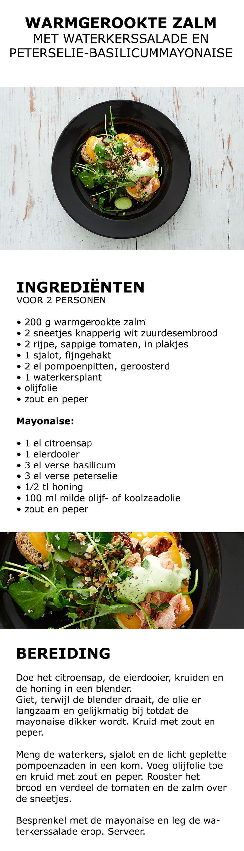 Inspiratie voor in de keuken - Warmgerookte zalm | #IKEA #IKEAnl #salade #mayonaise #zalm #inspiratie #koken #eten #kweken #tuinieren #groente #kruiden
