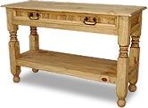 Rustic Pine Collection - Lyon Console Table - CON09 For the entry way= just need to paint it