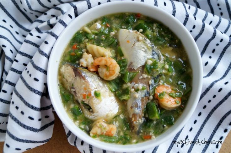 how to cook okra soup