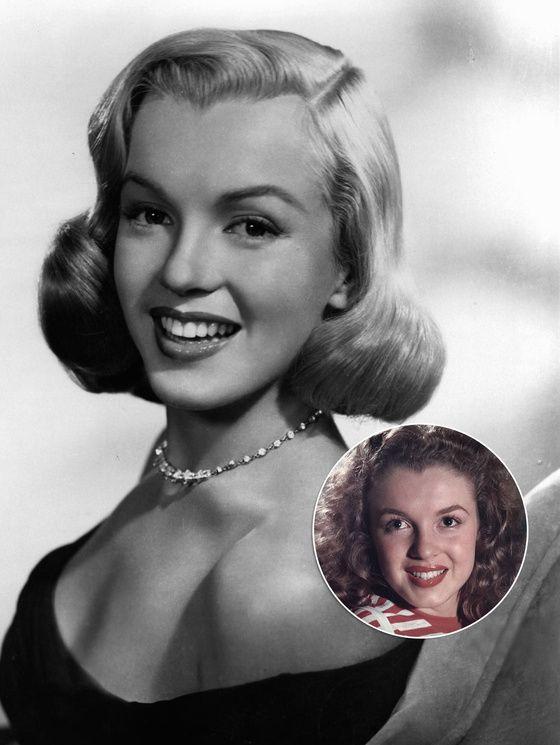 En plus de sa décoloration ultra chimique couleur « taie d'oreiller » comme elle l'appelait, Marilyn Monroe s'est fait un implant au menton en 1949 (en cartilage de bovin sculpté et qui sera absorbé par la suite. L'actrice se serait aussi fait une légère rhinoplastie à la demande de ses producteurs, pour corriger le mouvement vers le bas qu'opérait son nez lorsqu'elle souriait à pleine dent.