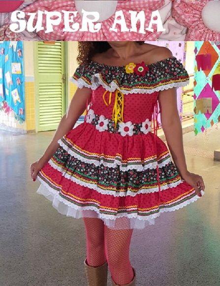 2646d8711 Compre Vestido KAROL De Festa Junina no Elo7