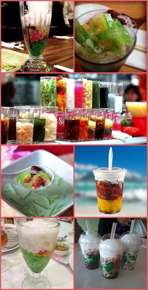 vietnamese desserts/drink sama ja ma indonesia ternyata yummyyyy