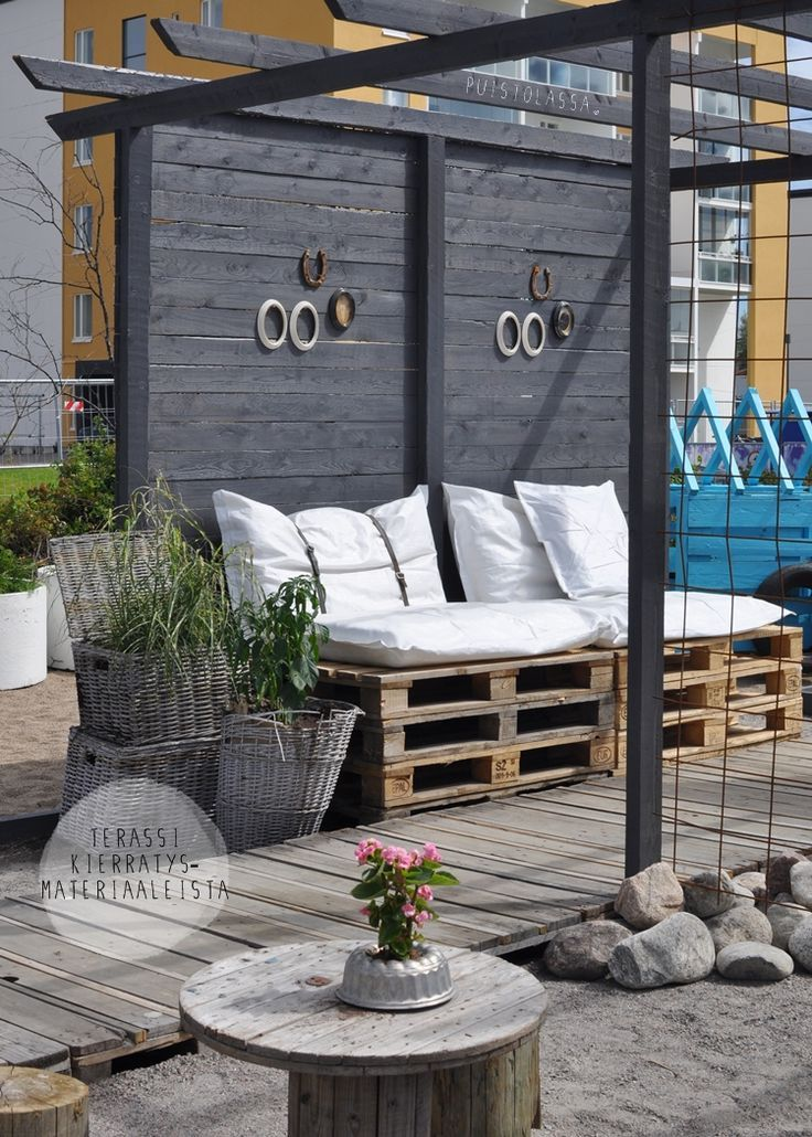 Rustic terrace