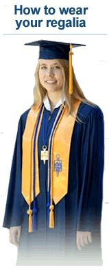 How to wear your Phi Theta Kappa regalia