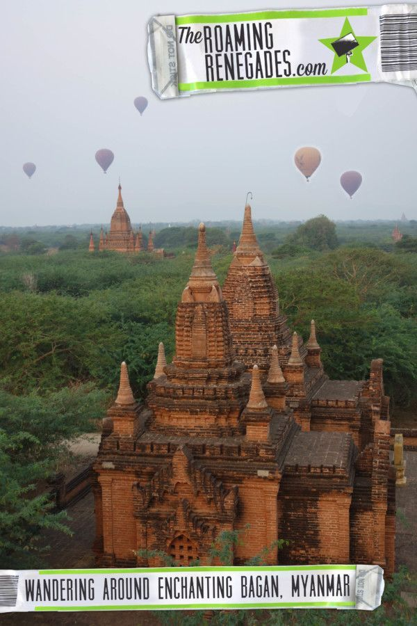 Wandering around the enchanting Bagan temples, Myanmar