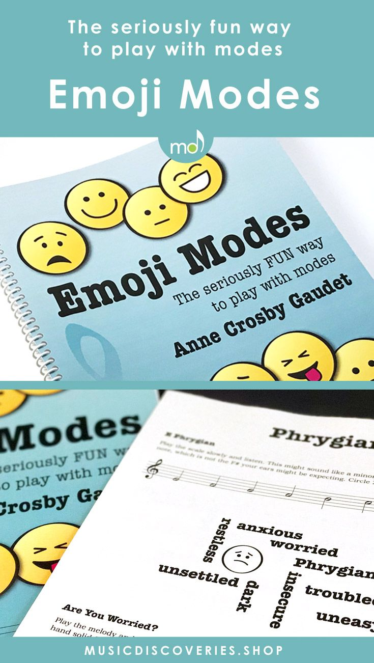Discover the playful side of working with modes. This workbook is for harp students and piano students alike. Learn how each mode has the potential to express a unique mood or character. #pianoteaching #harp #modes