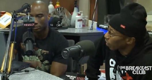 ONYX Fredro Starr & Charlamagne Tha God Beef during The Breakfast Club Interview