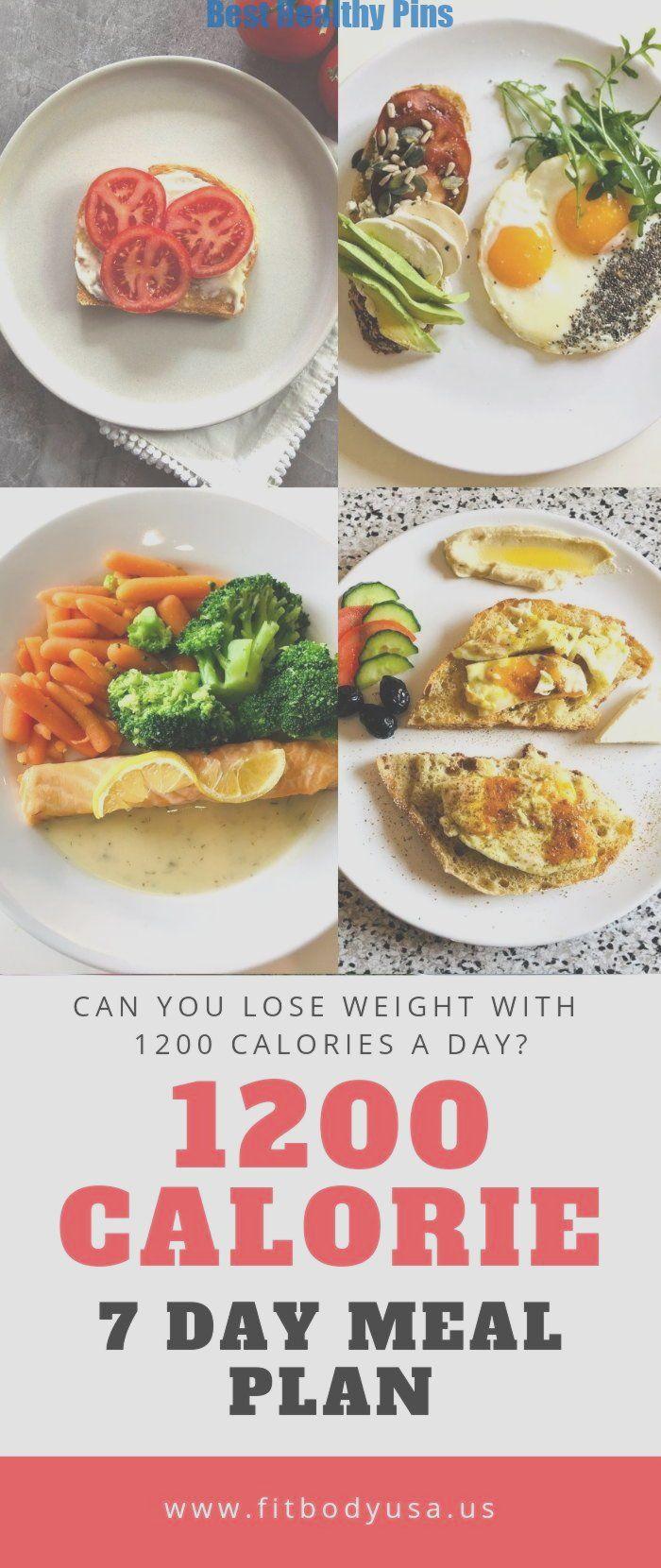Diät 1200 Kalorien Menü