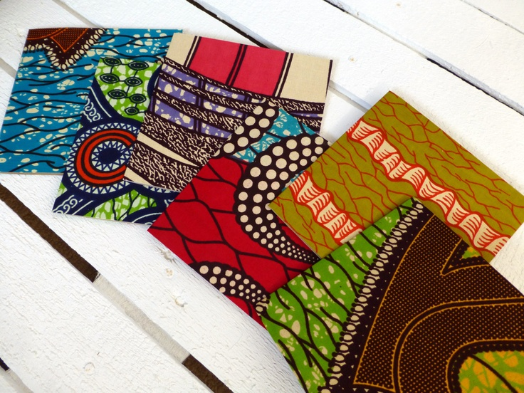 African wax print Wedding invites x 60 Party invitations. £100.00, via Etsy.