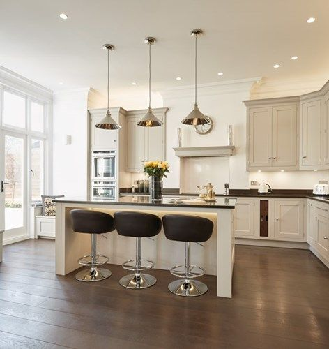 fabulous example of how to layer light in the kitchen luxury contemporary kitchen tom - Lighting In Kitchen
