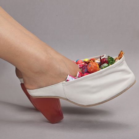 Lolice-shoes-by-Arnautovic-Belma Shoes filled with candy! I've got to get me a pair of these!!!