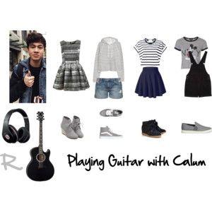 Playing Guitar with Calum