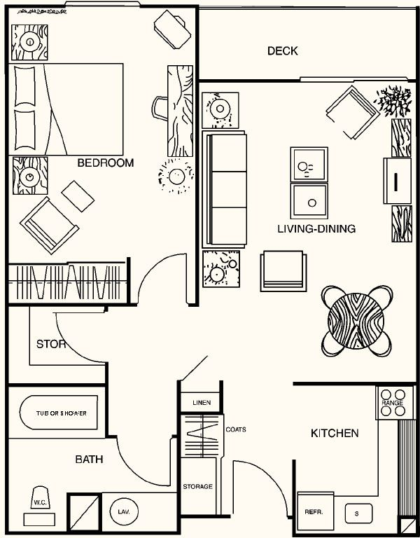 14 best images about 20 x 40 plans on pinterest house for 40 x 40 apartment plans
